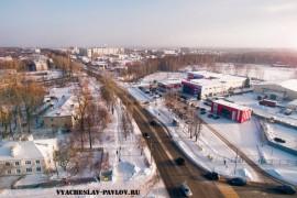 ТК АТАК г.Вязники (аэросъемка)