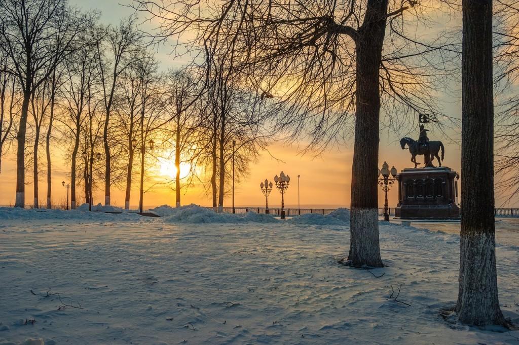Утренний мороз во Владимире 01