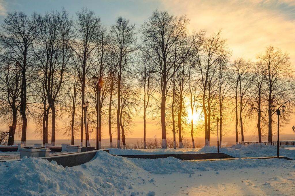 Утренний мороз во Владимире 02