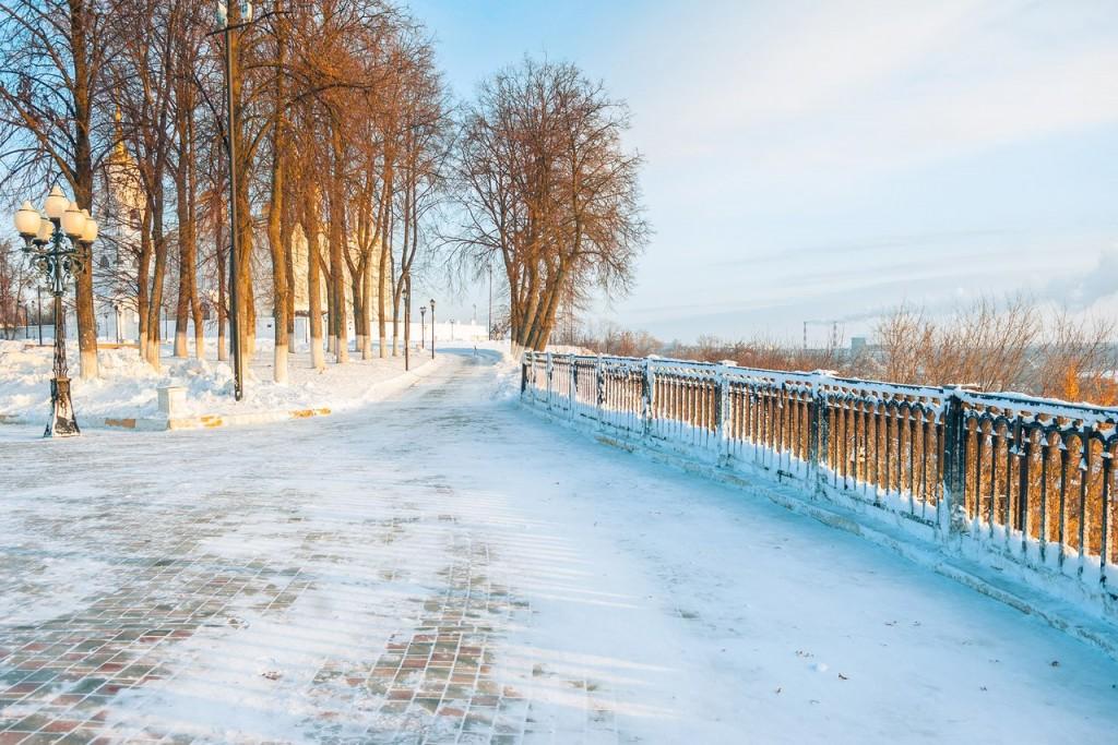 Утренний мороз во Владимире 03