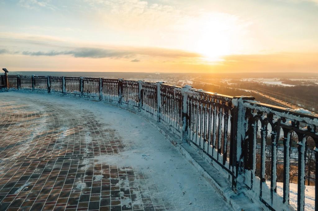 Утренний мороз во Владимире 04