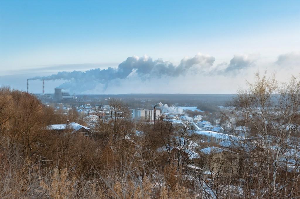 Утренний мороз во Владимире 06