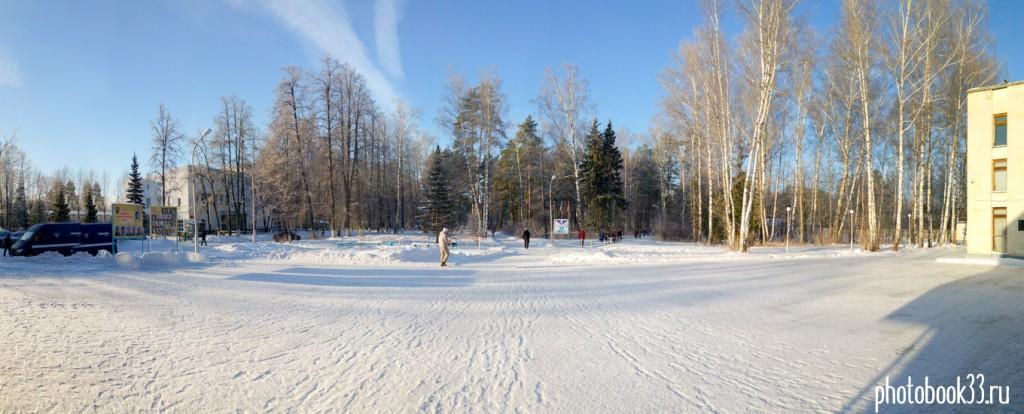 Чудесный солнечный зимний день на Вербовском 01