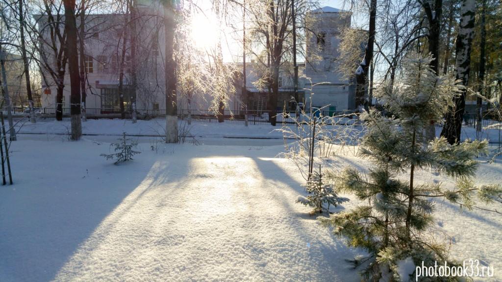 Чудесный солнечный зимний день на Вербовском 03