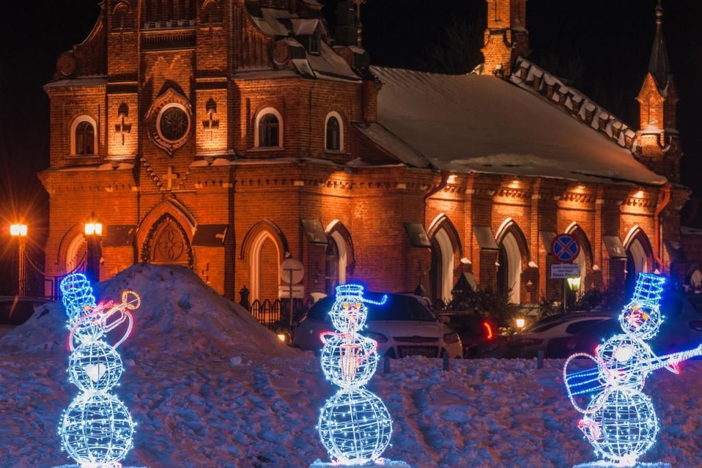 Вечерний, новогодний, праздничный Владимир 03