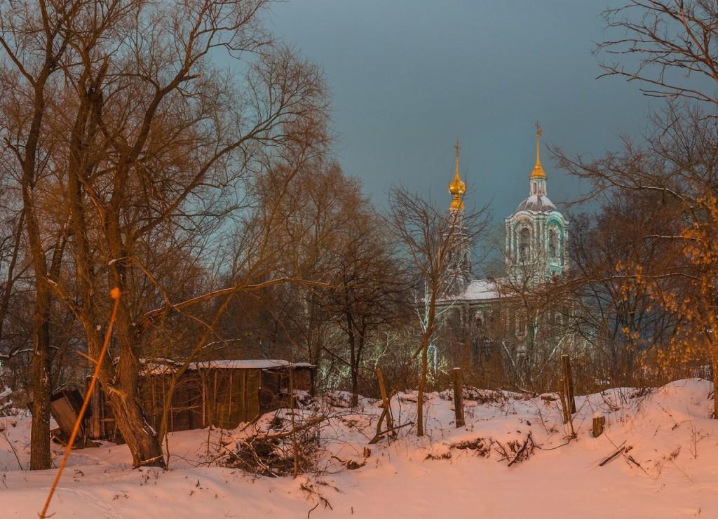 Вечерний, новогодний, праздничный Владимир 08
