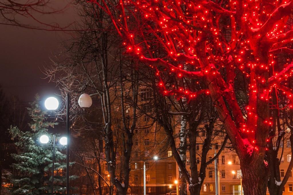 Вечерний, новогодний, праздничный Владимир 09