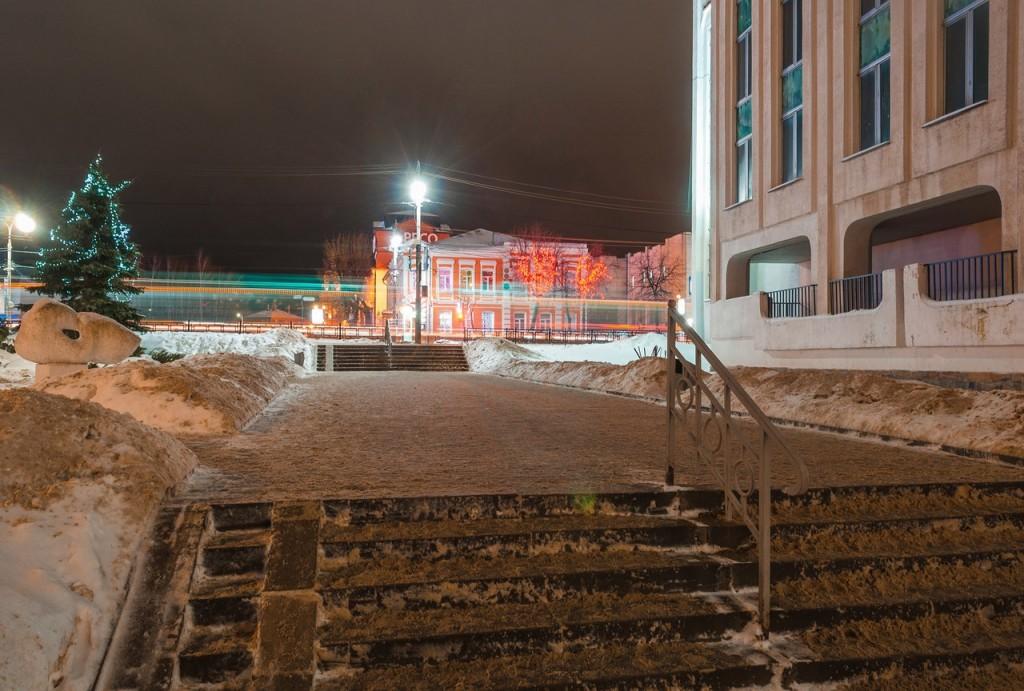 Вечерний, новогодний, праздничный Владимир 10