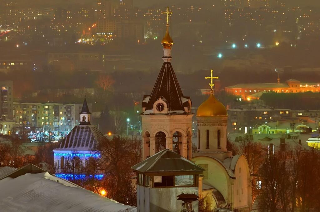 Вечерний, предновогодний, праздничный Владимир 2016-2017 01
