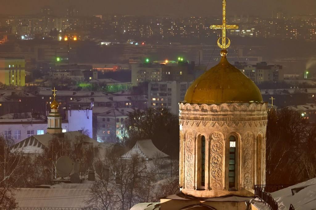 Вечерний, предновогодний, праздничный Владимир 2016-2017 07