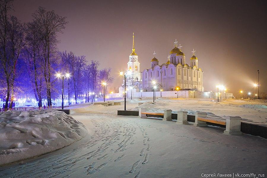 Город Владимир. Новогодняя серия 01