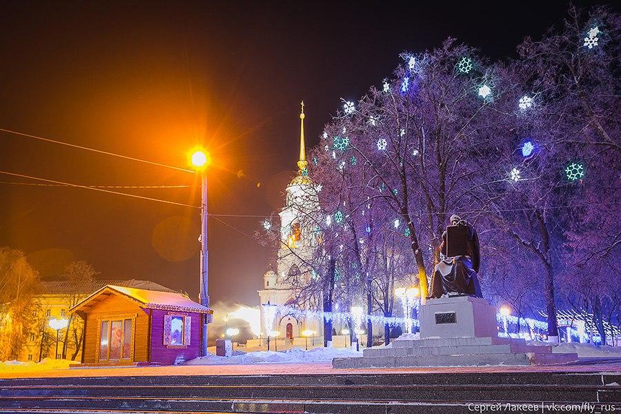 Город Владимир. Новогодняя серия 04