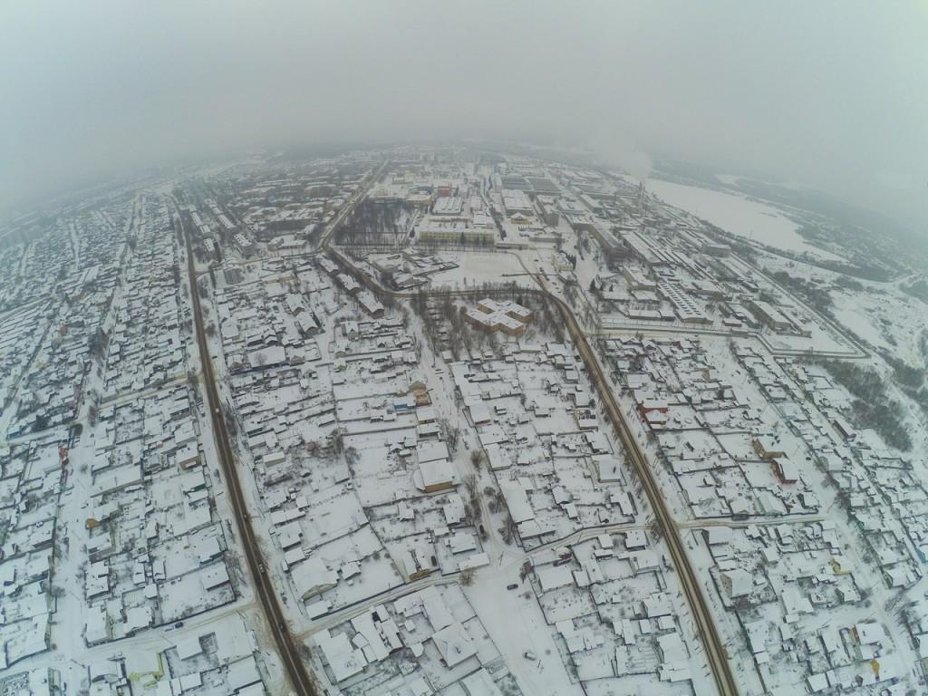 Город Ковров. Выше только облака 01