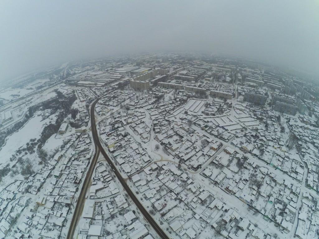 Город Ковров. Выше только облака 02