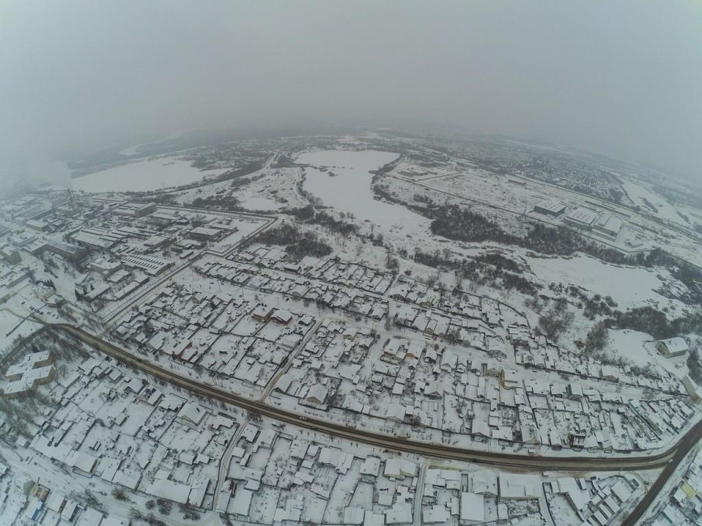 Город Ковров. Выше только облака 03
