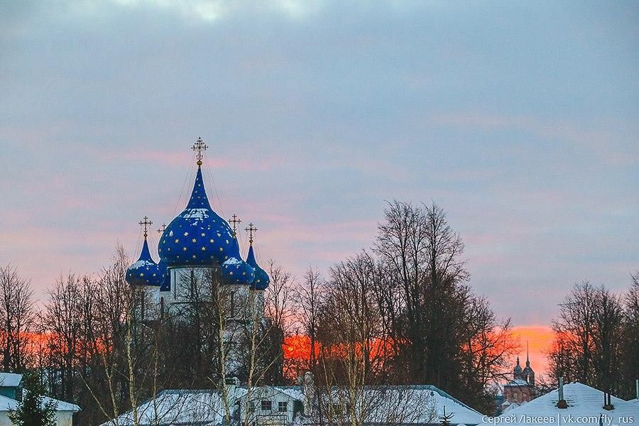 Город Суздаль. Новогодняя серия 01