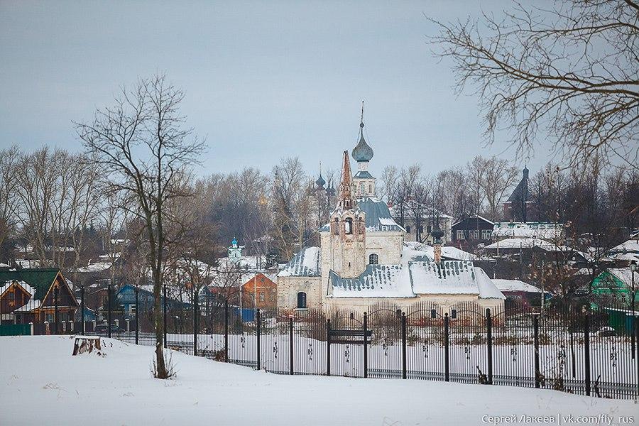 Город Суздаль. Новогодняя серия 02
