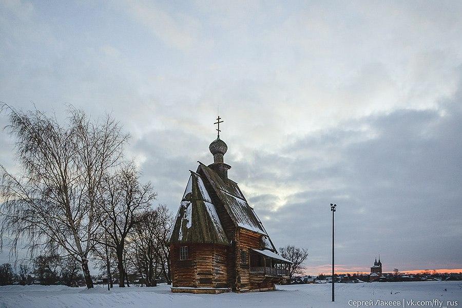 Город Суздаль. Новогодняя серия 03