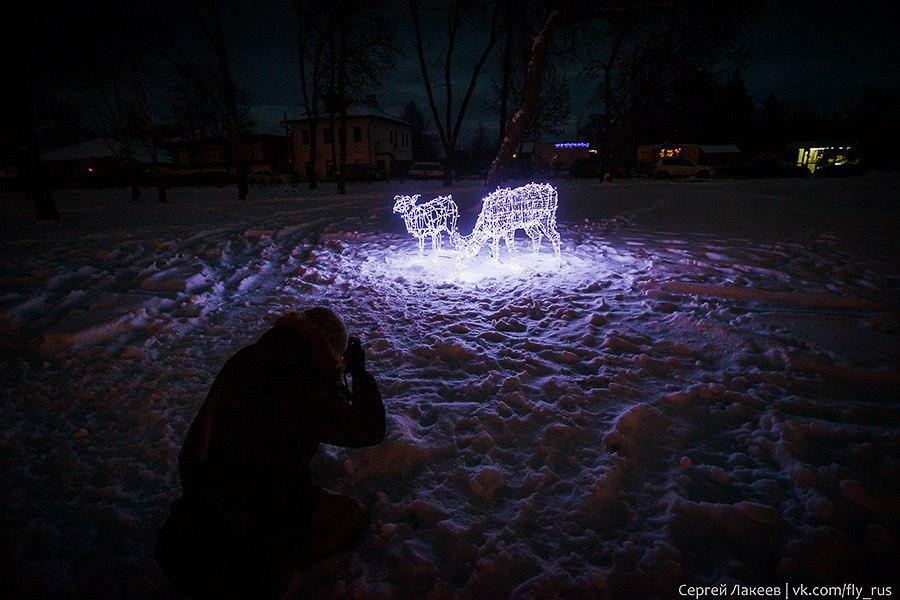 Город Суздаль. Новогодняя серия 04