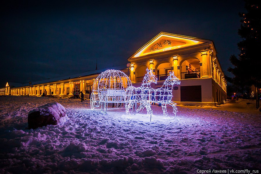Город Суздаль. Новогодняя серия 06
