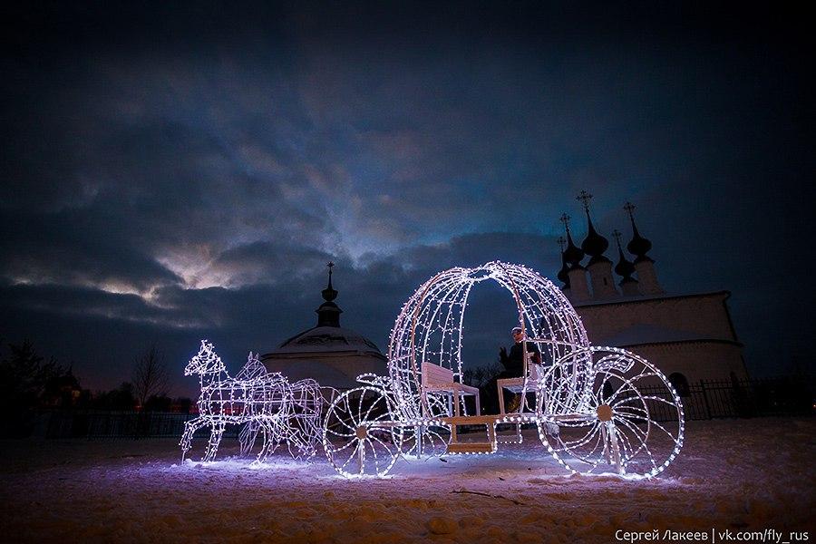 Город Суздаль. Новогодняя серия 07