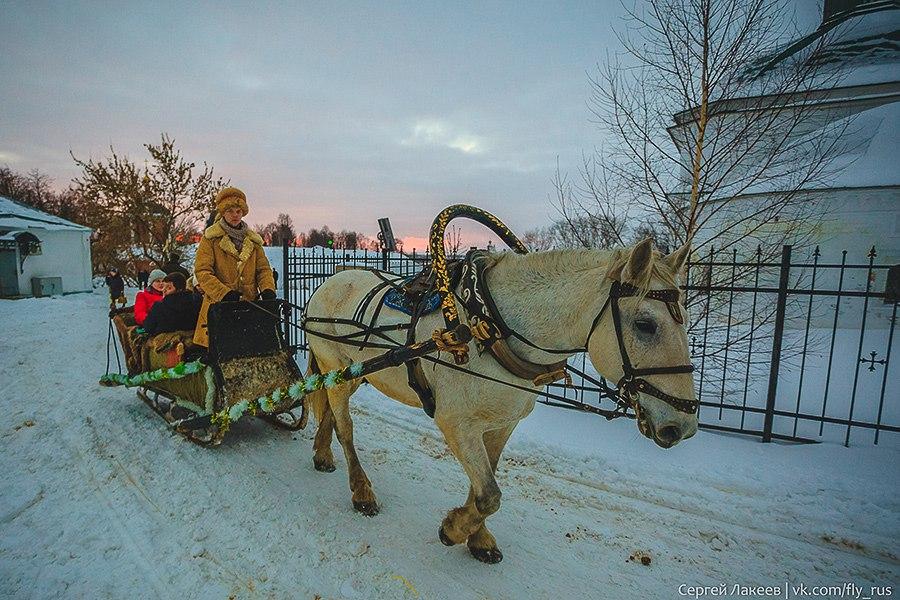 Город Суздаль. Новогодняя серия 09