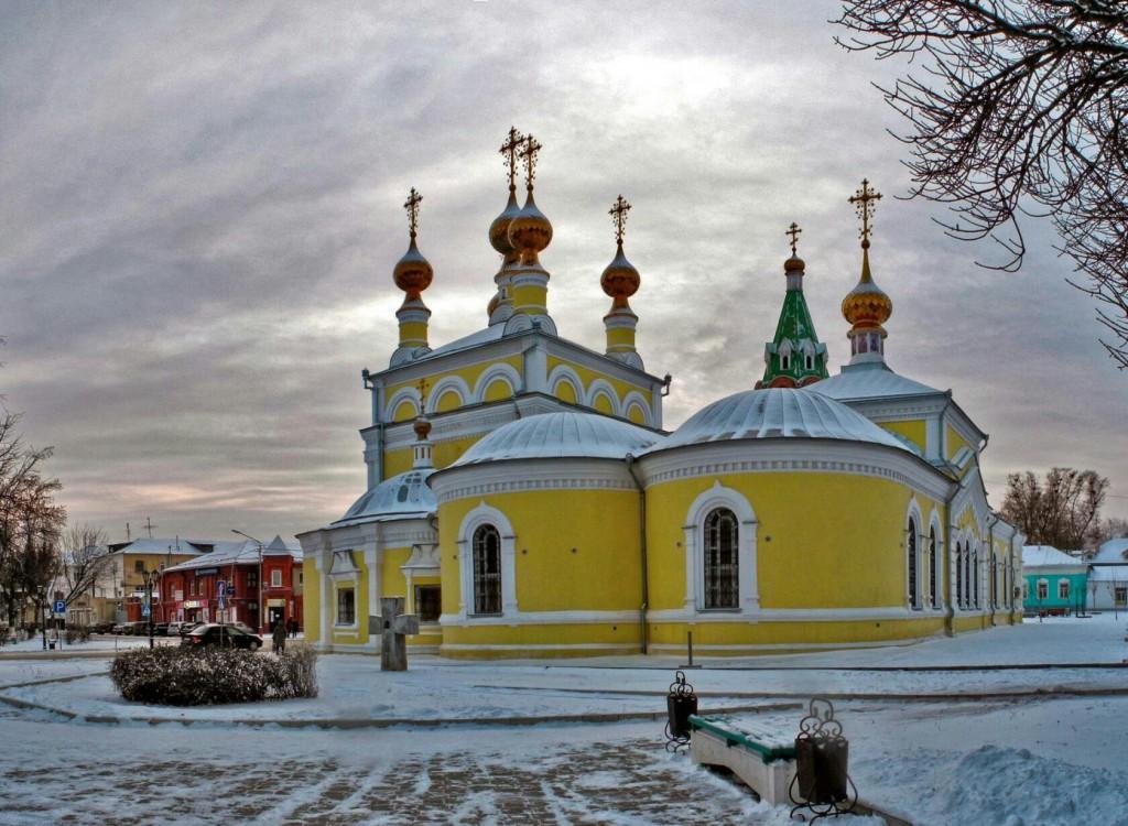 Зима, Вознесенская церковь, Муром
