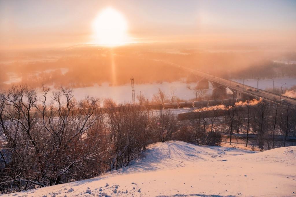 Морозное январское утро во Владимире 01