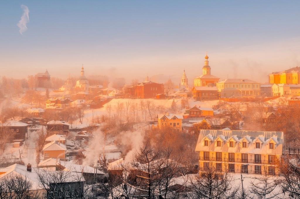 Морозное январское утро во Владимире 02