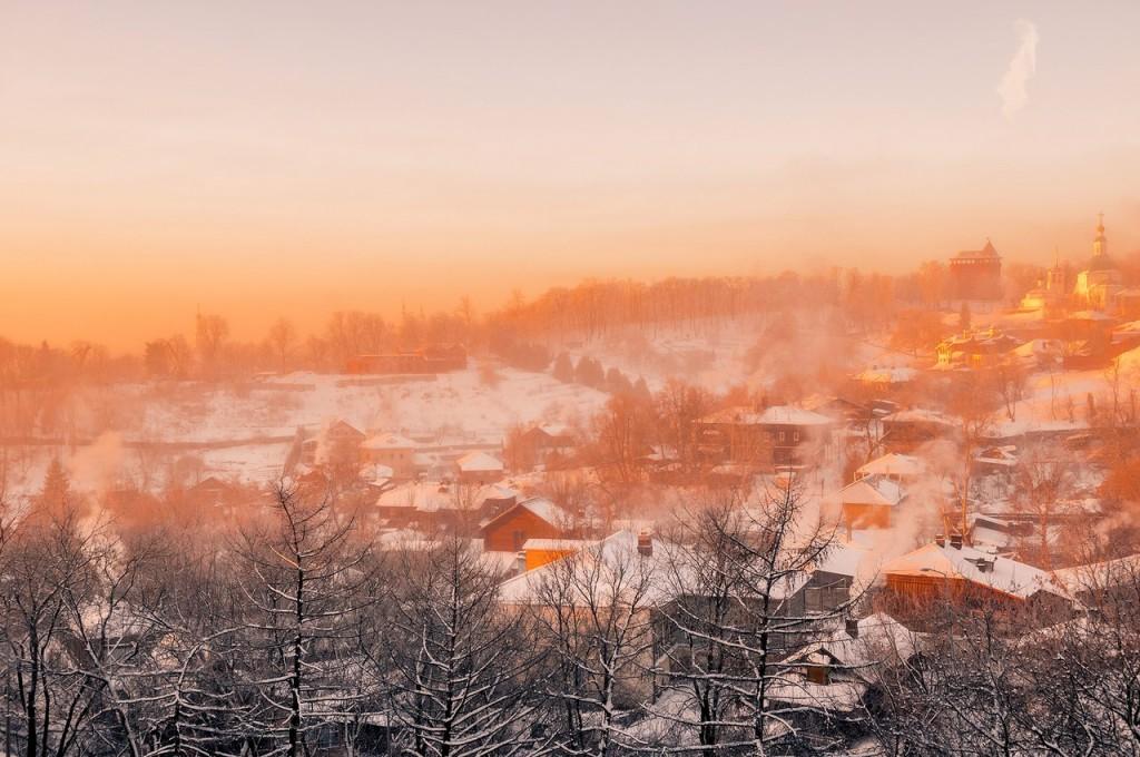 Морозное январское утро во Владимире 03