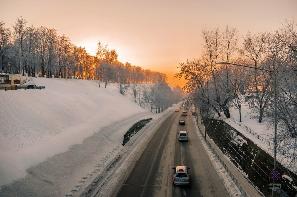 Морозное январское утро во Владимире 05