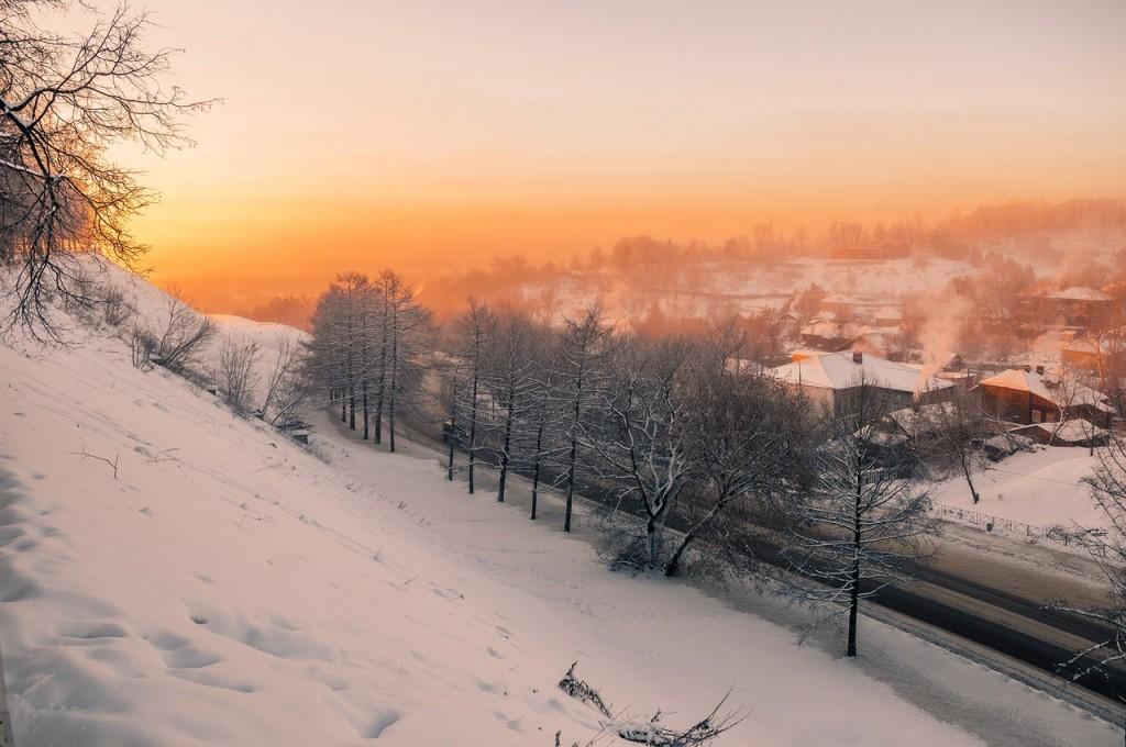 Морозное январское утро во Владимире 06