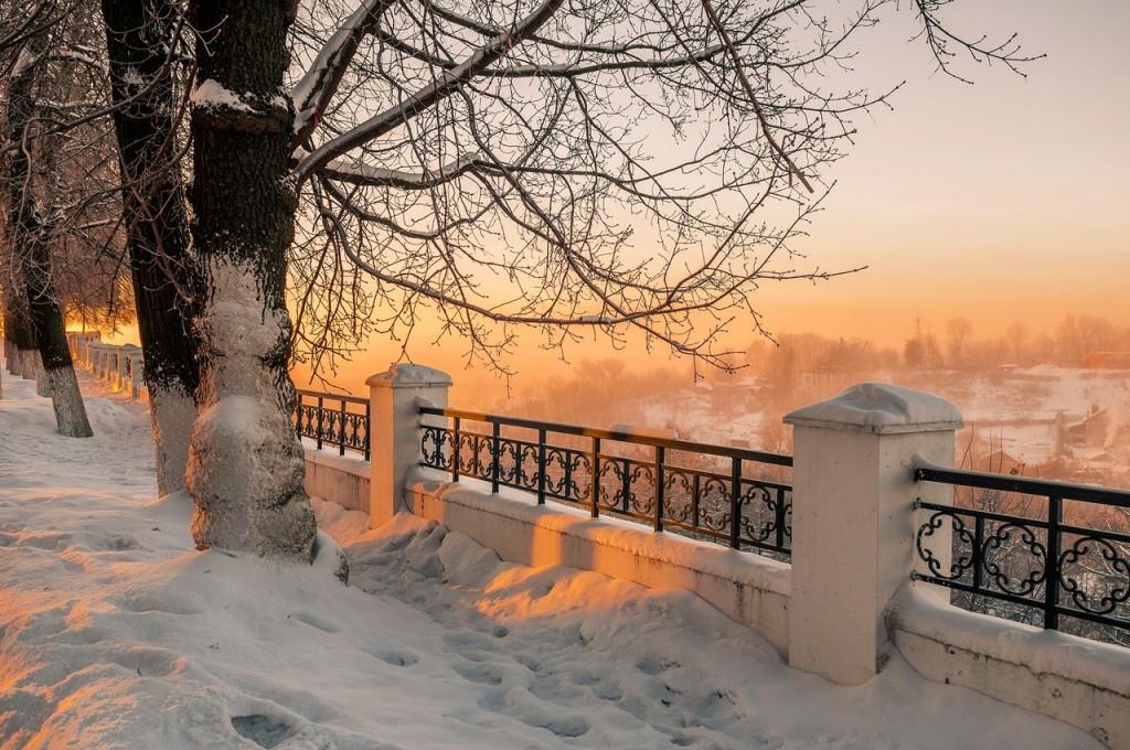 Морозное январское утро во Владимире 07