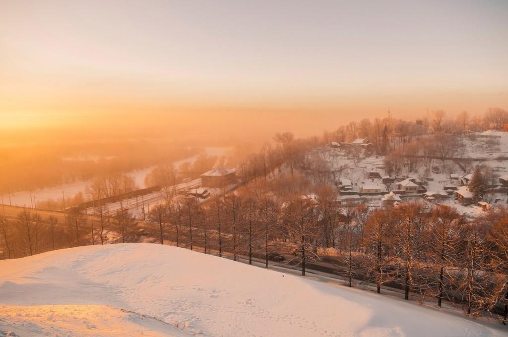 Морозное январское утро во Владимире 08