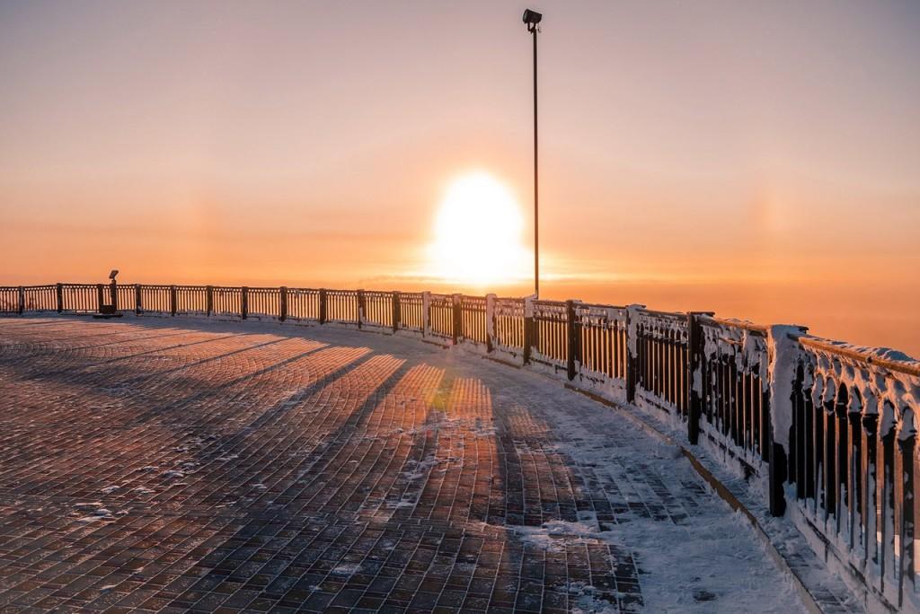 Морозное январское утро во Владимире 09