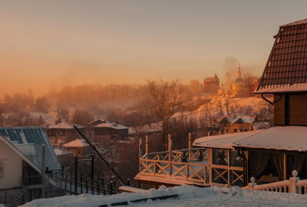 Морозное январское утро во Владимире 10