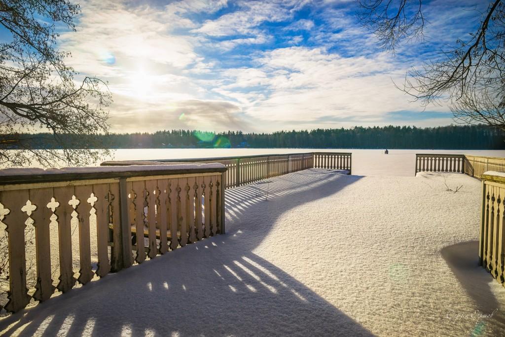 Мороз и солнце на Введенском озере