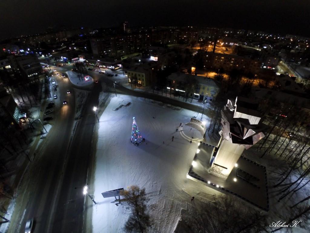 Новогодний Ковров с высоты 01