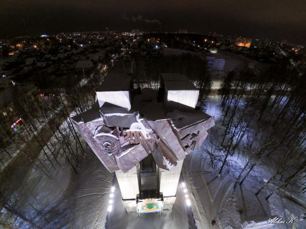 Новогодний Ковров с высоты 03