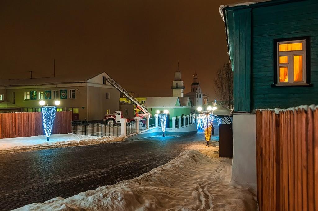 Новогодняя театральная площадь и Спасский холм 08