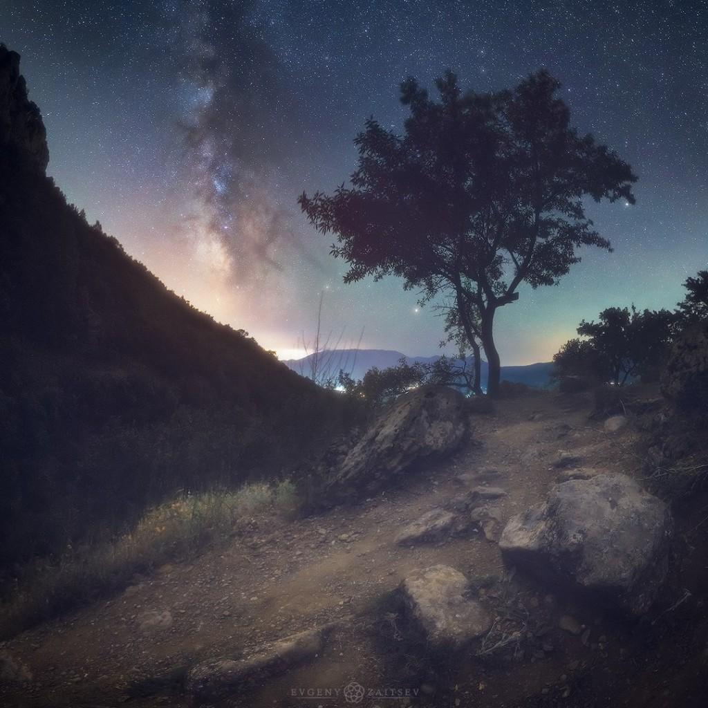 Ночные пейзажи Крыма 02