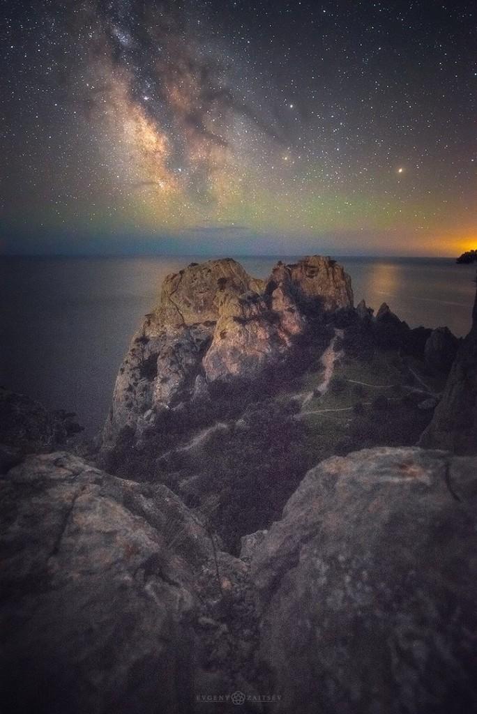 Ночные пейзажи Крыма 08