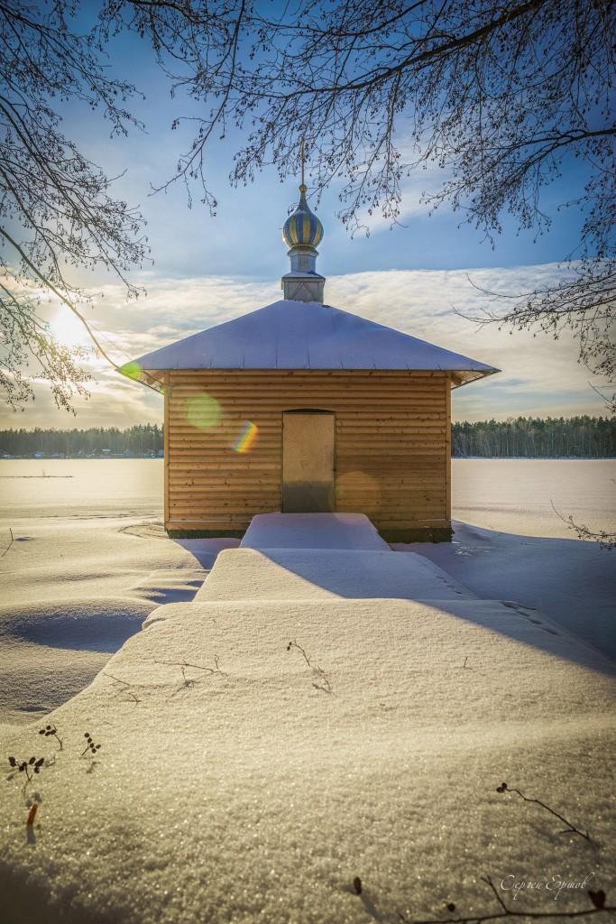 Озеро Введенское. Покров. Часовня-купальня