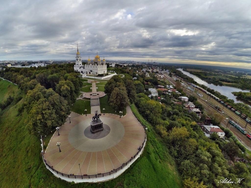 Осень во Владимире. Съемка с высоты. 02