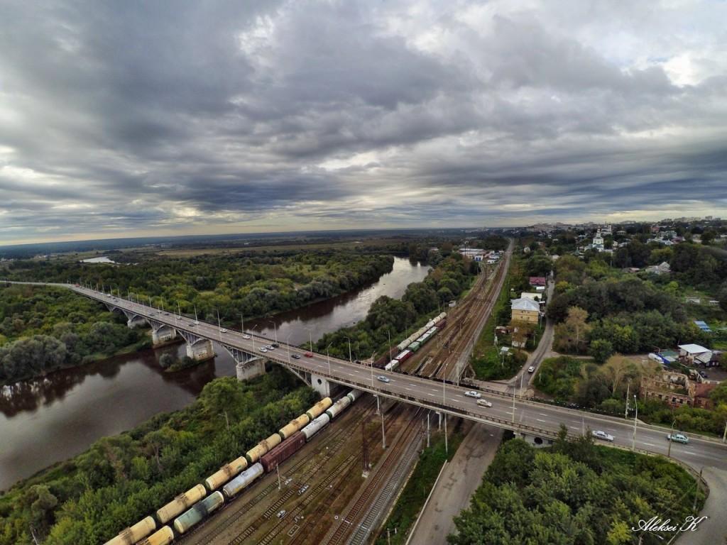 Осень во Владимире. Съемка с высоты. 03