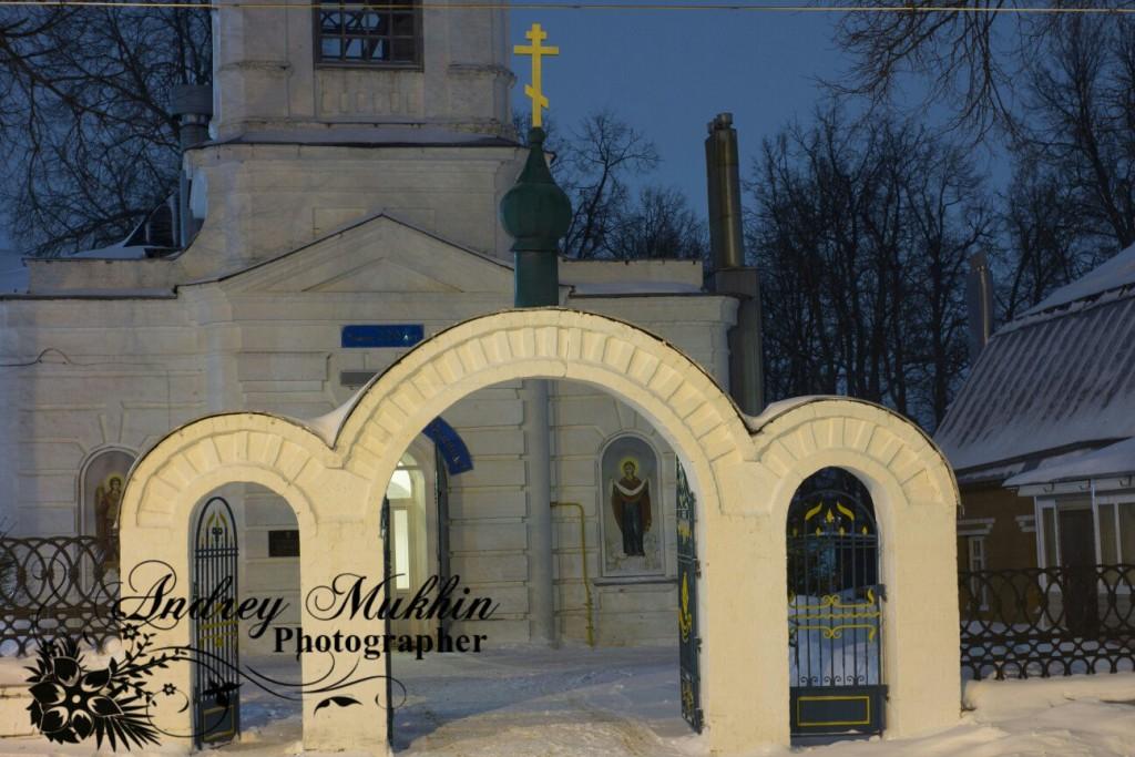 Прекрасные виды вечернего Кольчугино и планы церкви покрова пресвятой Богородицы 03