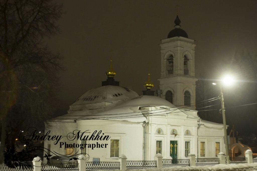 Прекрасные виды вечернего Кольчугино и планы церкви покрова пресвятой Богородицы 05