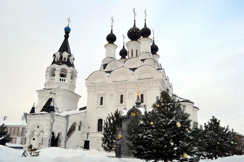 Рождество в муромском Благовещенском монастыре 01