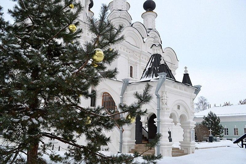 Рождество в муромском Благовещенском монастыре 07
