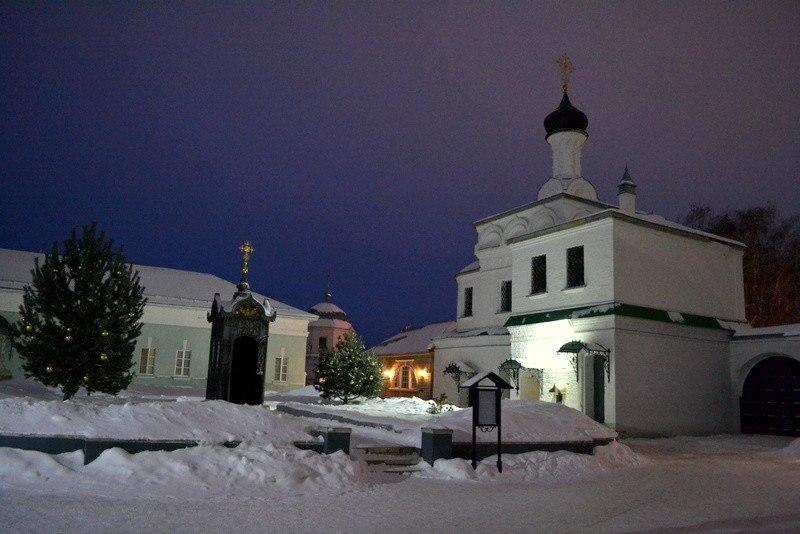 Рождество в муромском Благовещенском монастыре 08